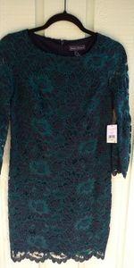 NWT Jessica Howard size 4p sheath lace formal